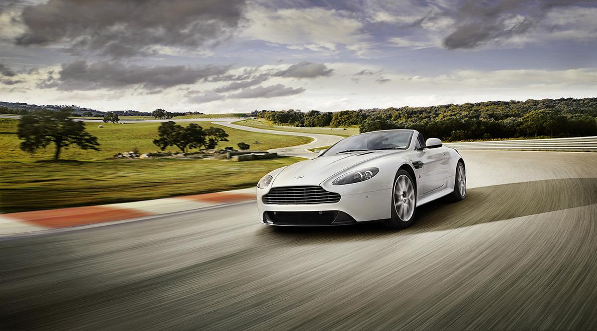 Aston Martin – V8 Vantage S