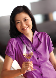 Jeannie Cho Lee - one member of the SIA International Wine Panel