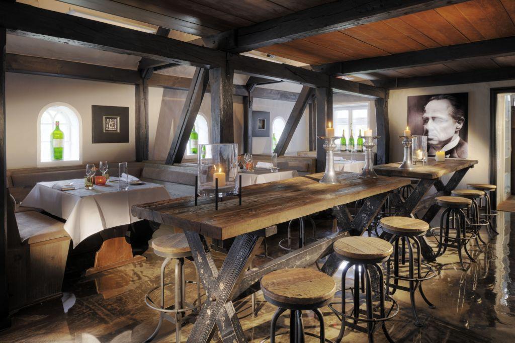 Landhaus Stricker_Restaurant siebzehn84_Stammtisch