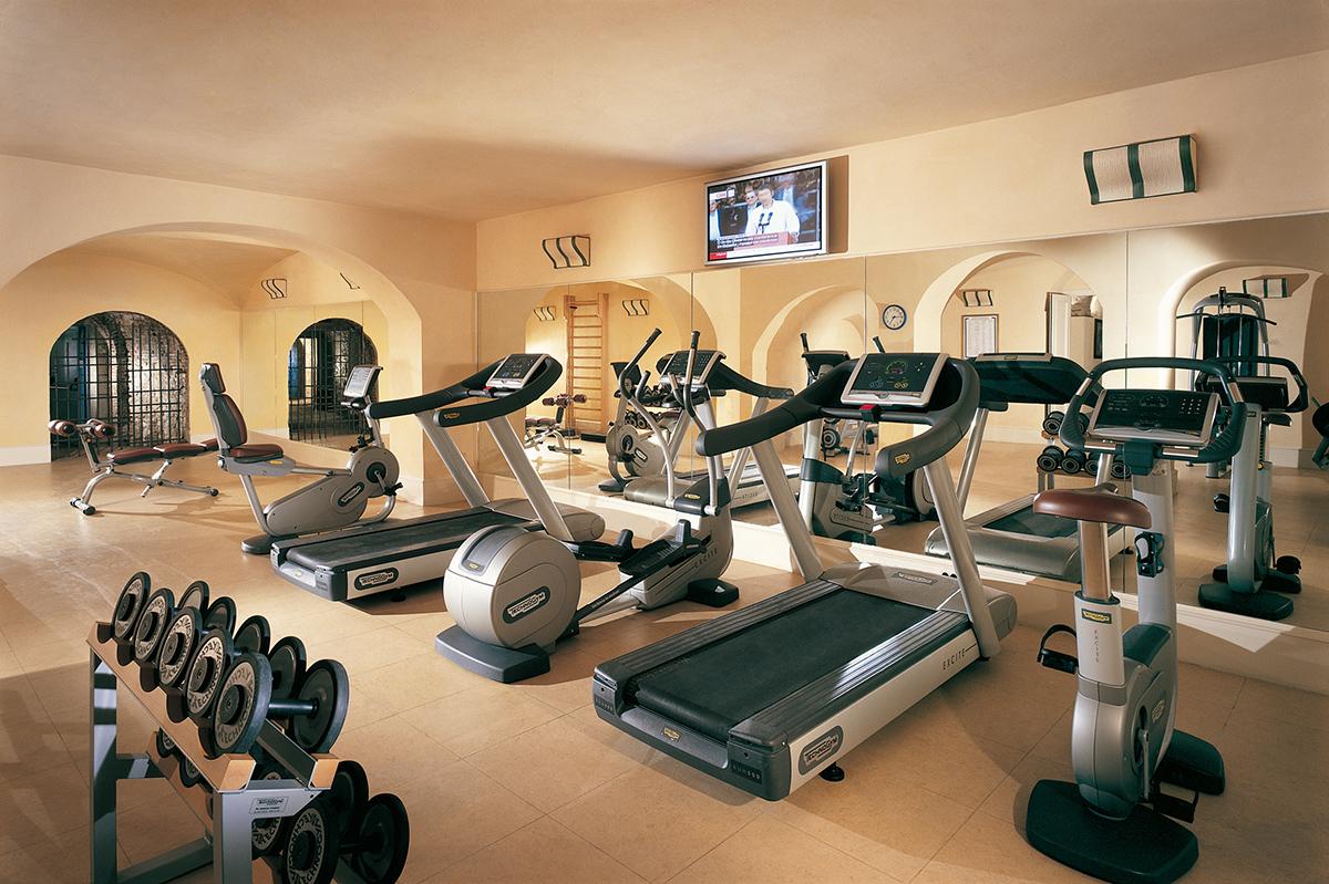 Fitnessraum luxuslupe